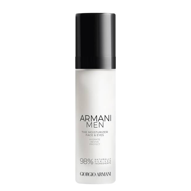 Armani Men The Moisturizer Face & Eyes Daily Anti-Aging Moisturizer
