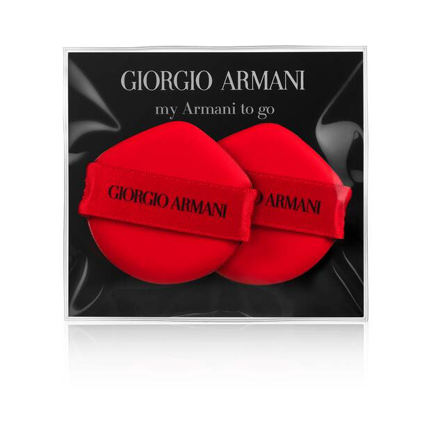 My Armani To Go Cushion Foundation dúo de esponjas